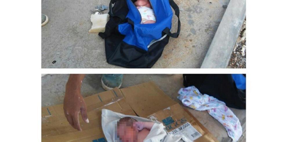 Recién nacido es encontrado dentro de una maleta en David