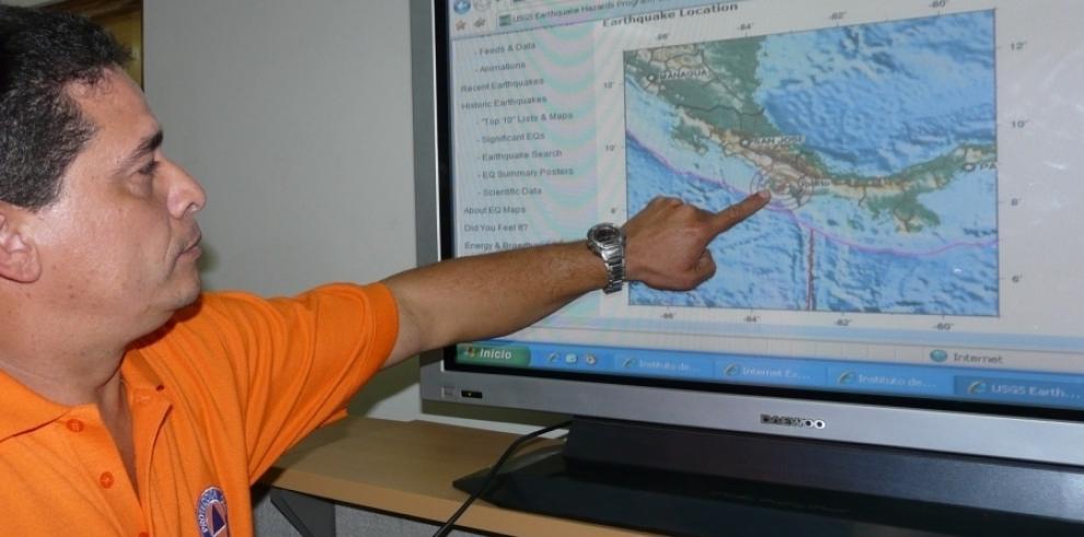 Tres sismos sacuden a Chiriquí sin dejar consecuencias