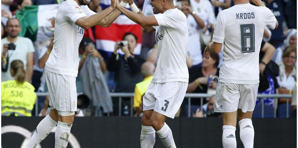 El Madrid se coloca líder provisional