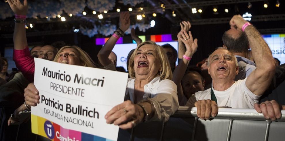 Macri gana las presidenciales argentinas, según primeros datos oficiales