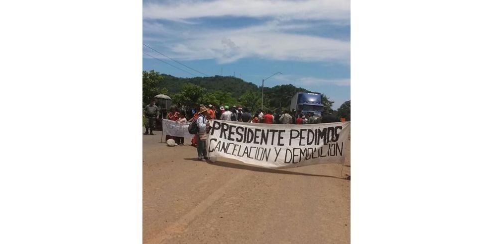 Indígenas aumentan medidas de fuerza contra Barro Blanco