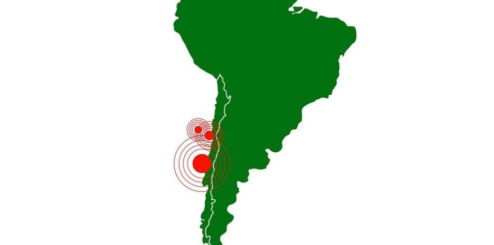 Sismo de 5.5 grados Richter estremece Chile