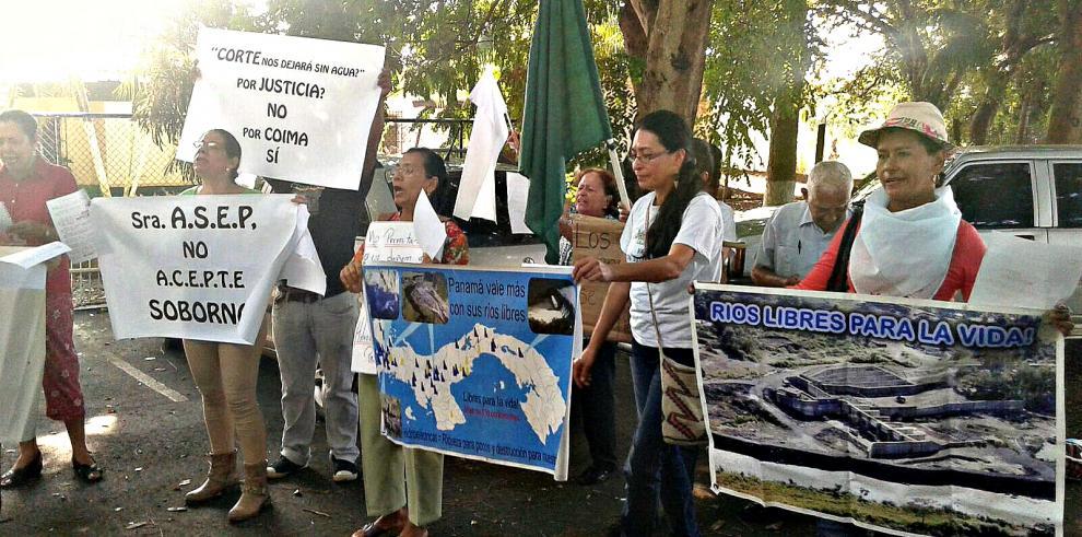 Coordinadora Bugabeña exigen cancelación de proyectos hidroeléctricos
