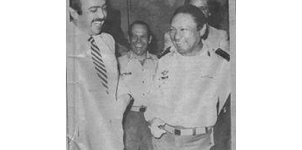 Los #TBT del exdictador Manuel Antonio Noriega