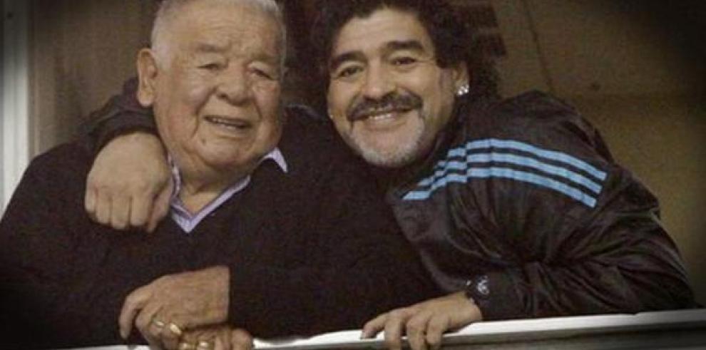 Falleció el padre de Diego Maradona a los 87 años