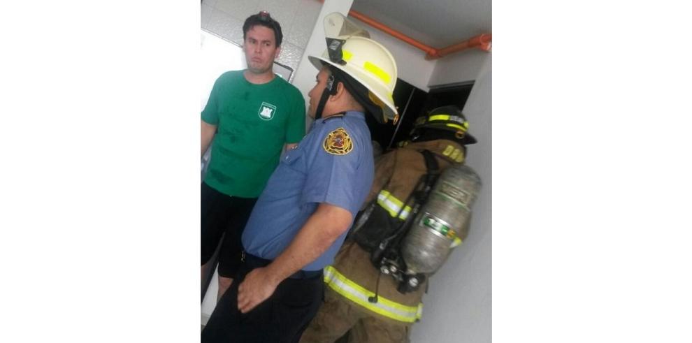 Explosión por fuga de gas de cocina en el edificioCity Towers