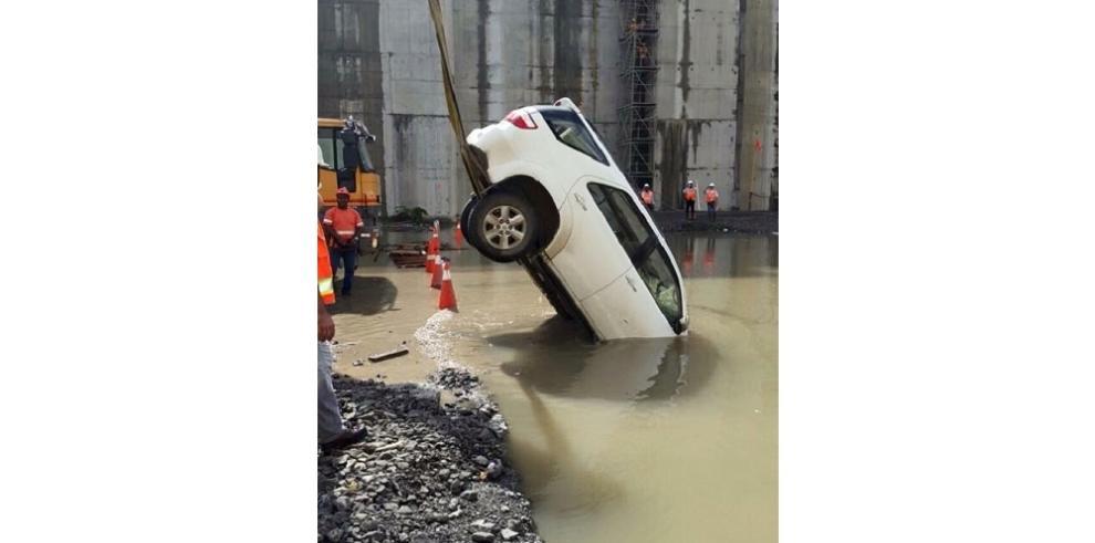 Primer accidente en el Canal ampliado