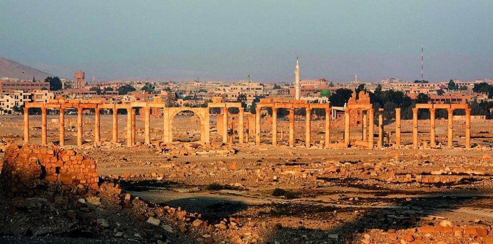 Palmira, la perla del desierto en manos del Estado Islámico