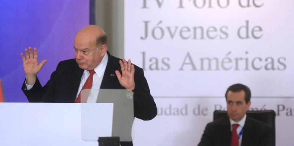 Insulza se despidió hoy de la OEA