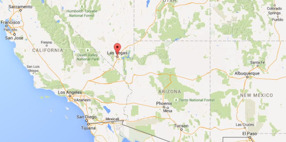 Un sismo de 5,4 grados sacude Las Vegas