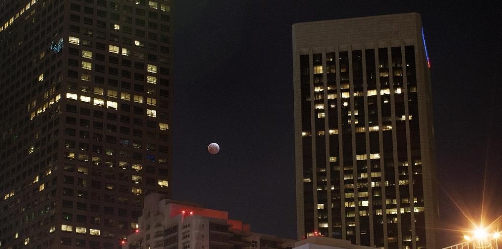 Fotogalería: Eclipse total de luna