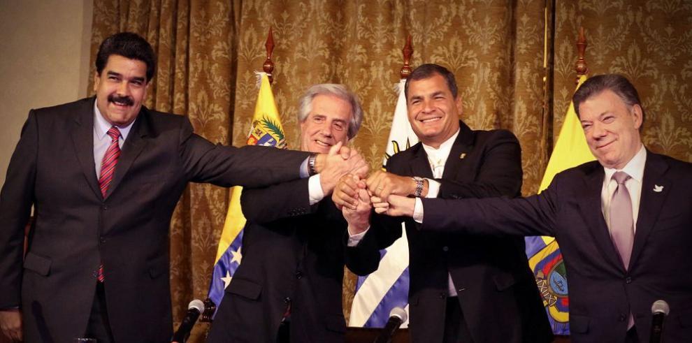 Maduro y Santos llegan a acuerdo en Ecuador