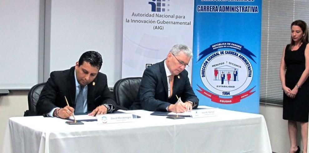 Firman acuerdo de gestión del Recursos Humanos