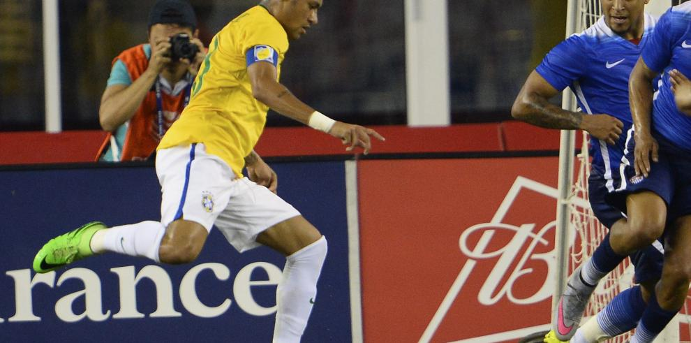 Show de Neymar en goleada a Estados Unidos