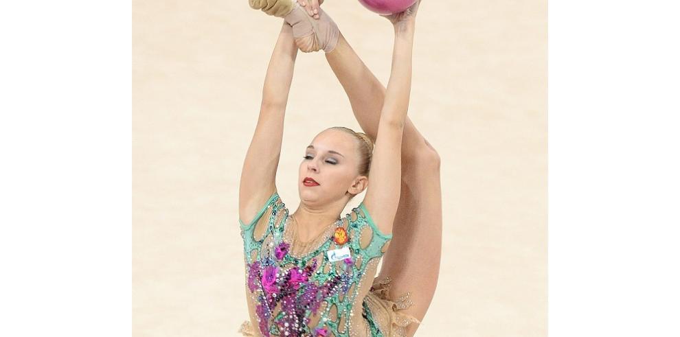 Rusia se lleva el oro en pelota y aro en Mundial de Gimnasia rítmica