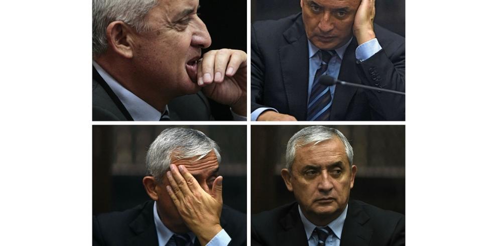 Juez decreta prisión preventiva a expresidente de Guatemala Otto Pérez