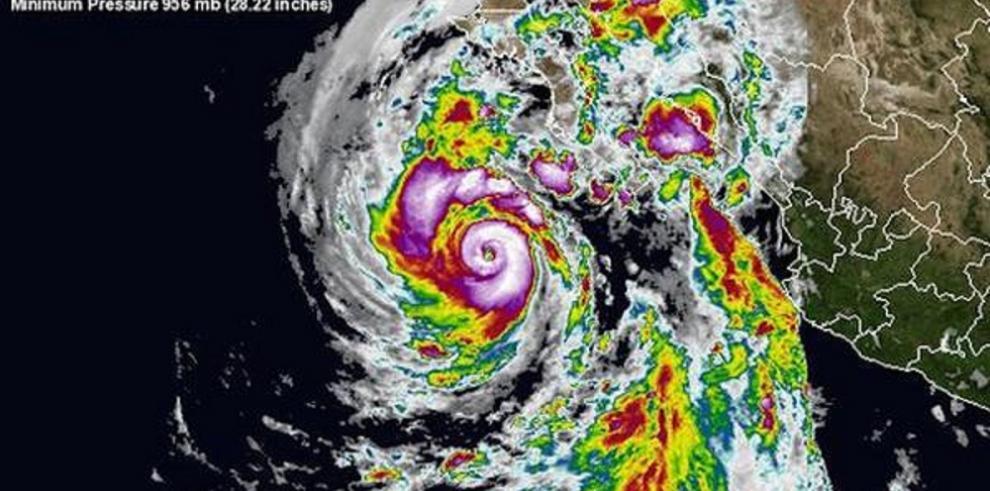 Huracán Linda generará lluvias intensa en costas mexicanas