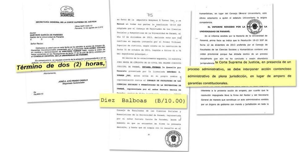 Sancionan a la UP por no acatar mandato de juzgado