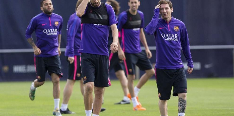 Barça comienza a preparar el duelo ante Bayern Múnich