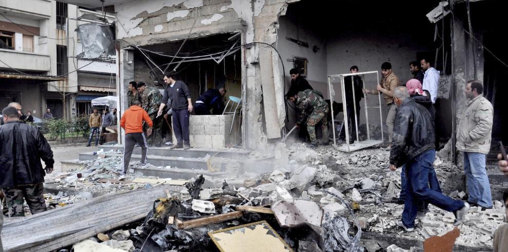 Siria refuerza seguridad tras ataque
