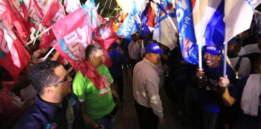 Los partidos políticos siguen enfrascados en pugnas internas
