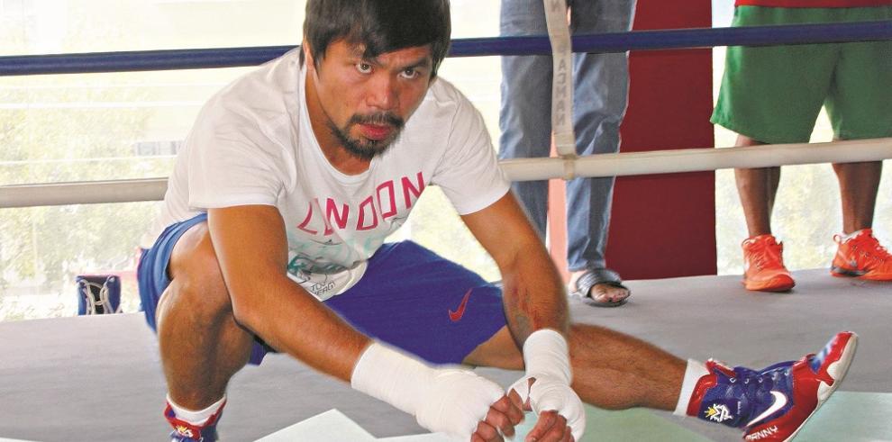 Confirman lesión de Pacquiaoy el boxeo está bajo investigación