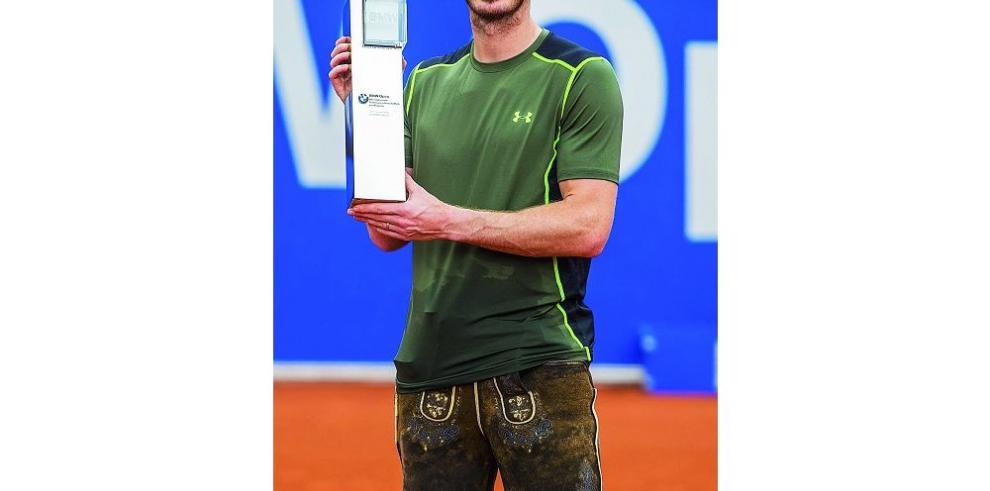 Murray logra imponerse en torneo alemán