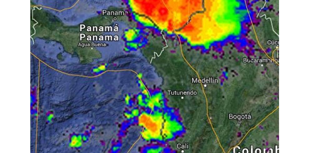 Sinaproc alerta de lluvias con actividad eléctrica