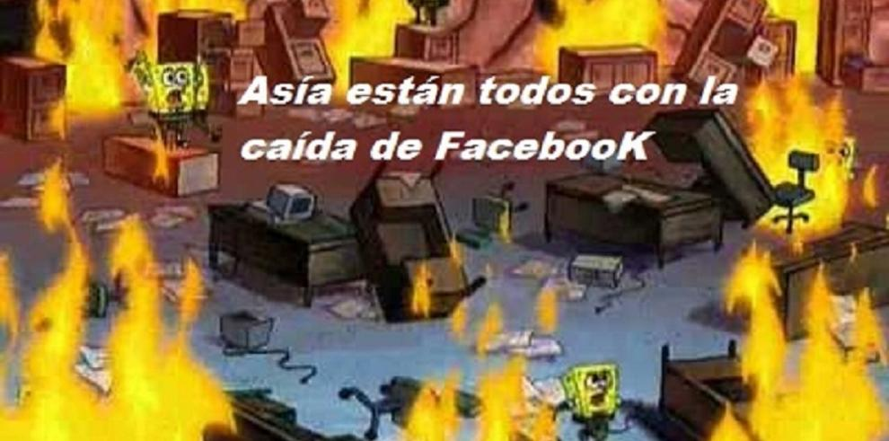 Así reaccionaron en redes ante la caída de Facebook