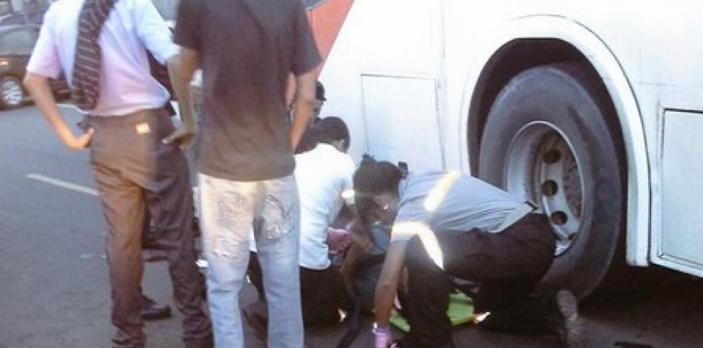 Metrobus atropella a mujer en Torrijos Carter