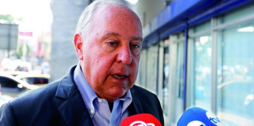 Suspenden declaración jurada de Alberto Vallarino en caso de radares