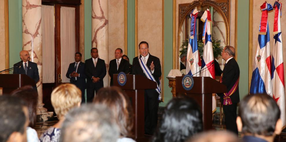Panamá y República Dominicana pactan tratado