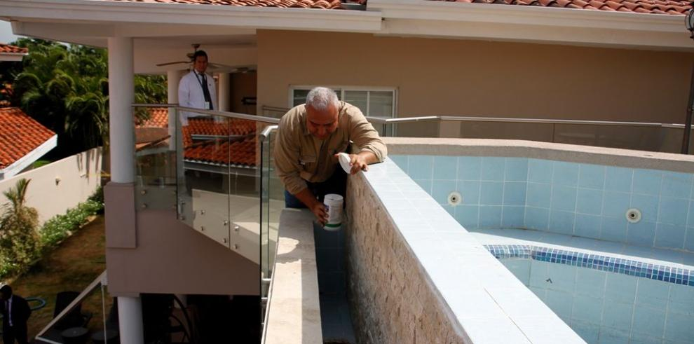 Minsa fumiga vivienda que le pertenecía a Guardia Jaén