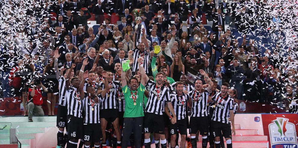 Juventus conquista su décima Copa de Italia