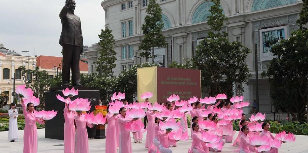 Recuerdan a Ho Chi Minh