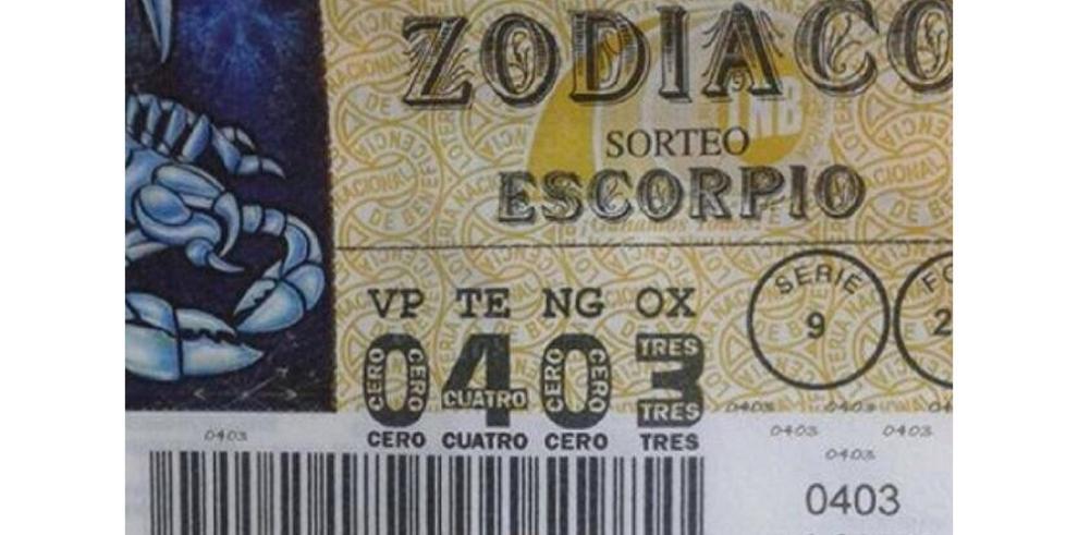 Otro error en los billetes de la Lotería Nacional