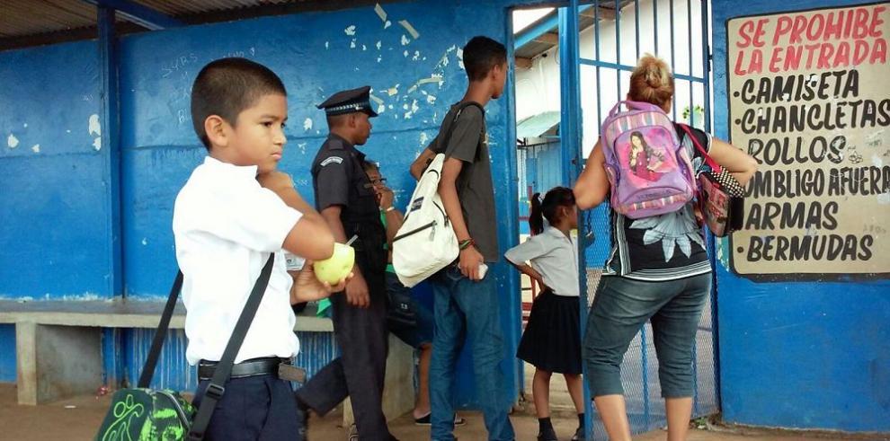 Dos pandillas se infiltran en colegio público en Arraiján