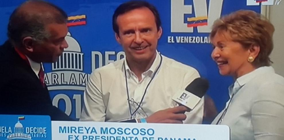 Revocan credenciales a expresidentes que se encuentran en Venezuela