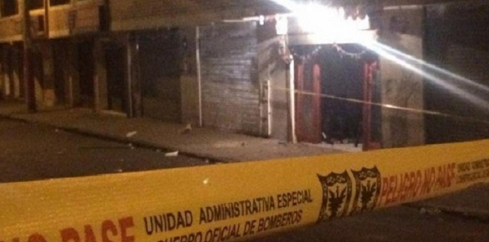 Al menos 43 lesionados por incendio provocado en un bar de Bogotá