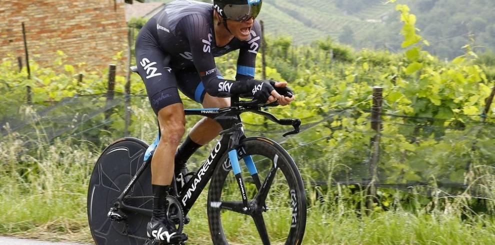 Contador recupera el liderato del Giro en la XIV etapa
