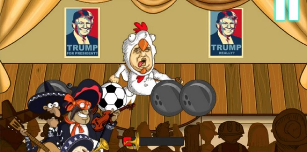 Crean videojuego de Donald Trump para canalizar ira de mexicanos