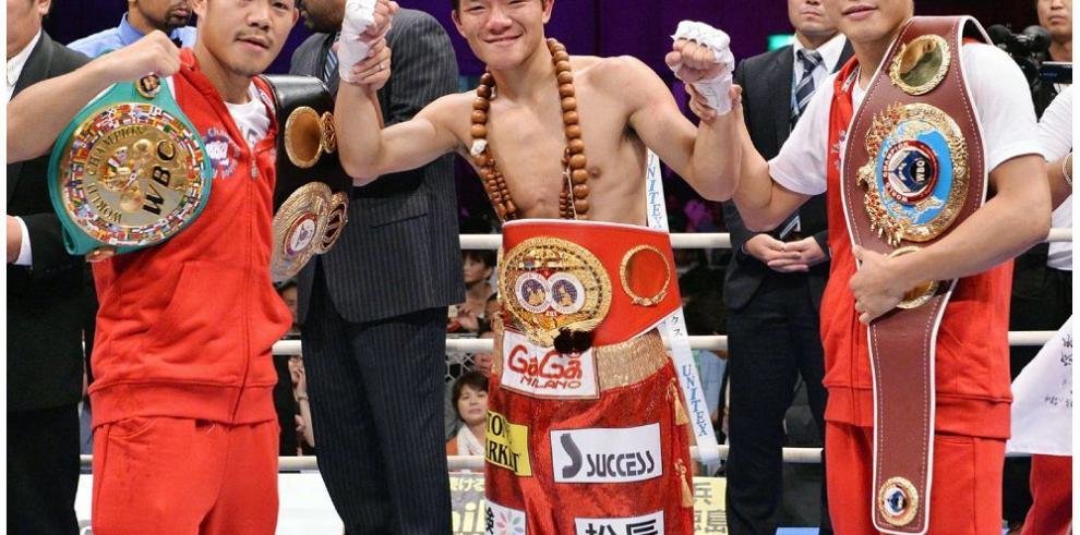 Japoneses Kameda y Kono al ring