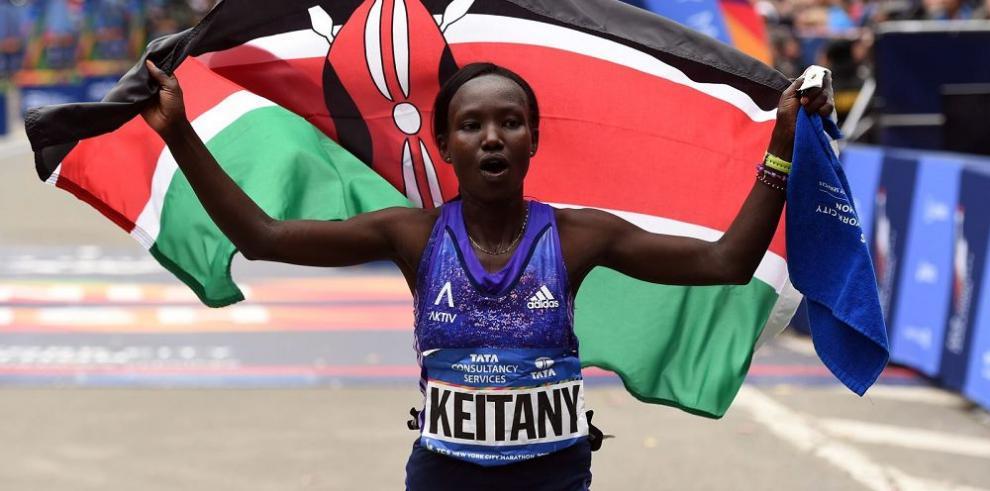 Kenianos se imponen en Nueva York