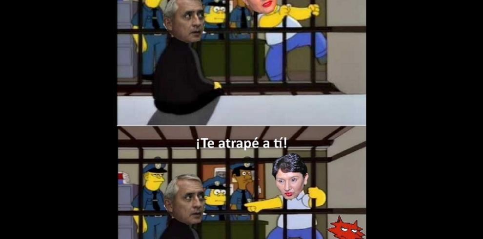 Memes por la renuncia del presidente de Guatemala