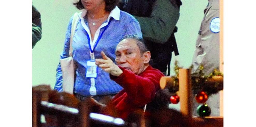 Noriega sufrió crisis hipertensiva la noche de este lunes