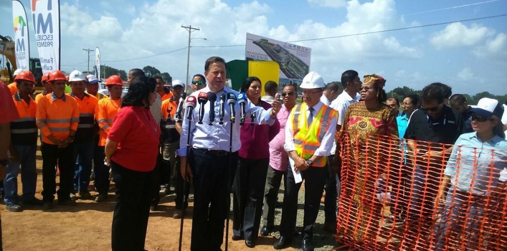 Varela dio la orden para construir escuela en Colinas de Pacora