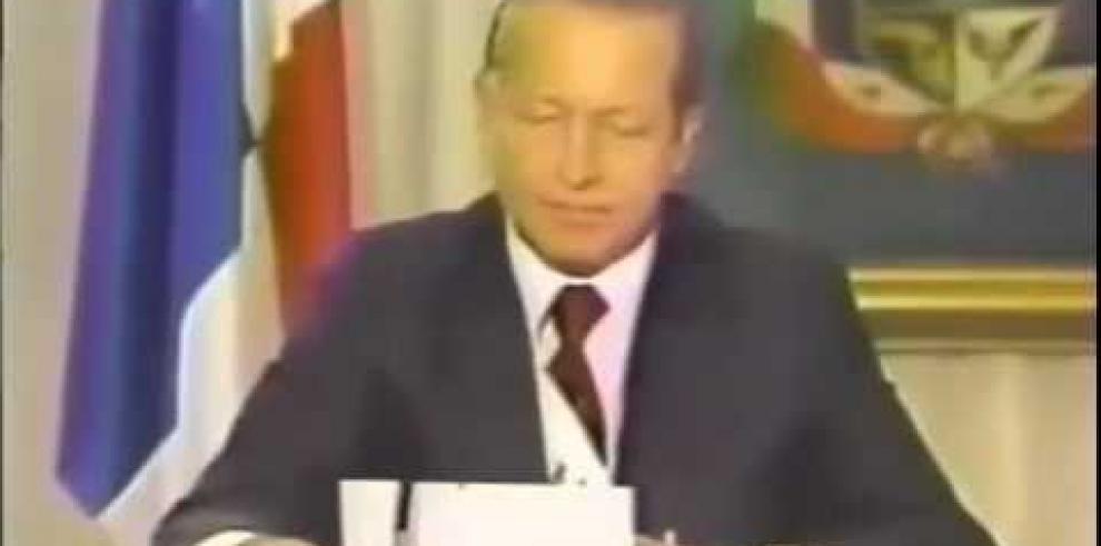 Fallece el expresidente de Panamá Eric Arturo Delvalle