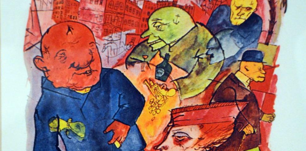 Grosz, el artista del 'No'