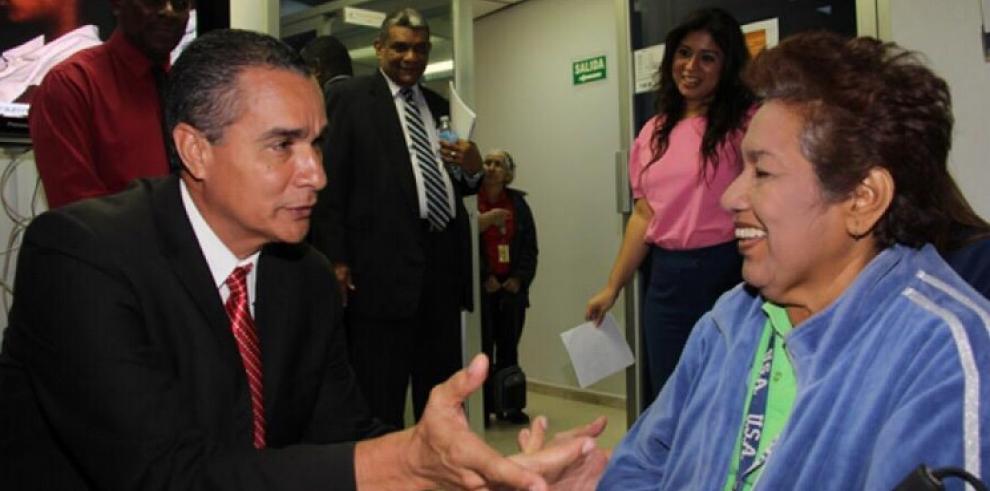 La periodista Omaira De León,