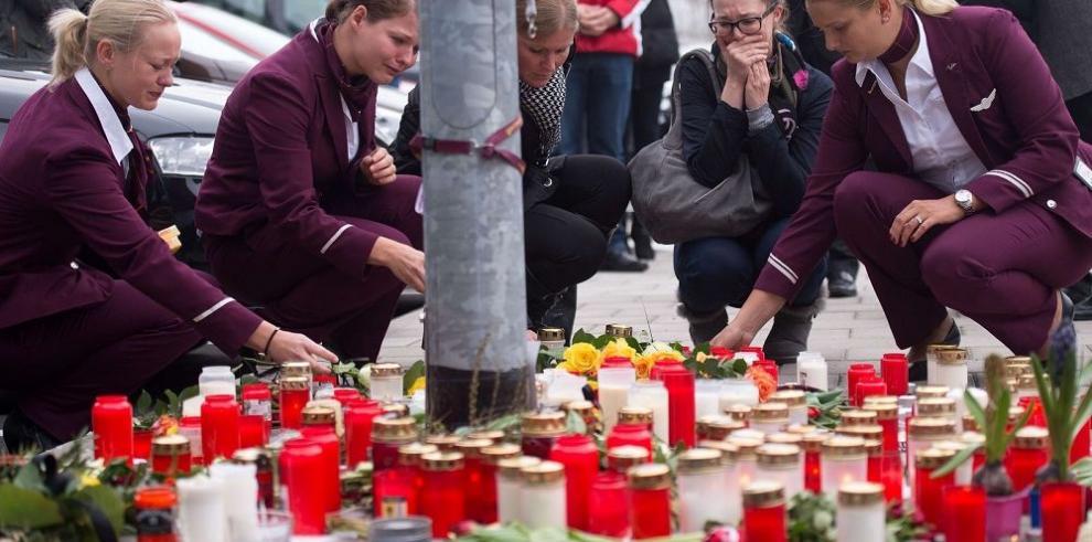 Pasajeros de 18 países volaban en el avión siniestrado